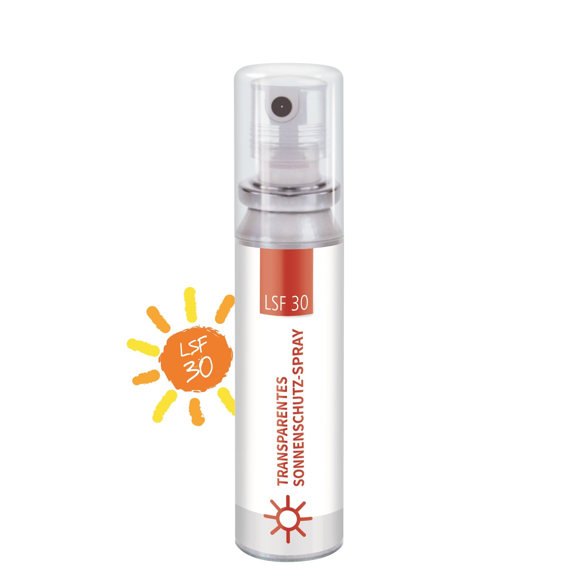 Transparentes Sonnenschutz-Spray